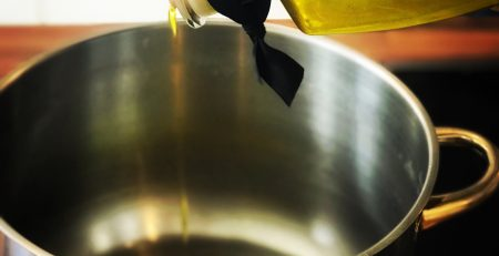 Cooking with the Governor Extra Virgin Olive oil